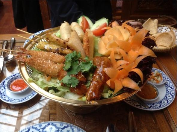 coco park泰国菜加盟