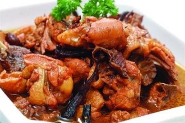 关东菜馆肉